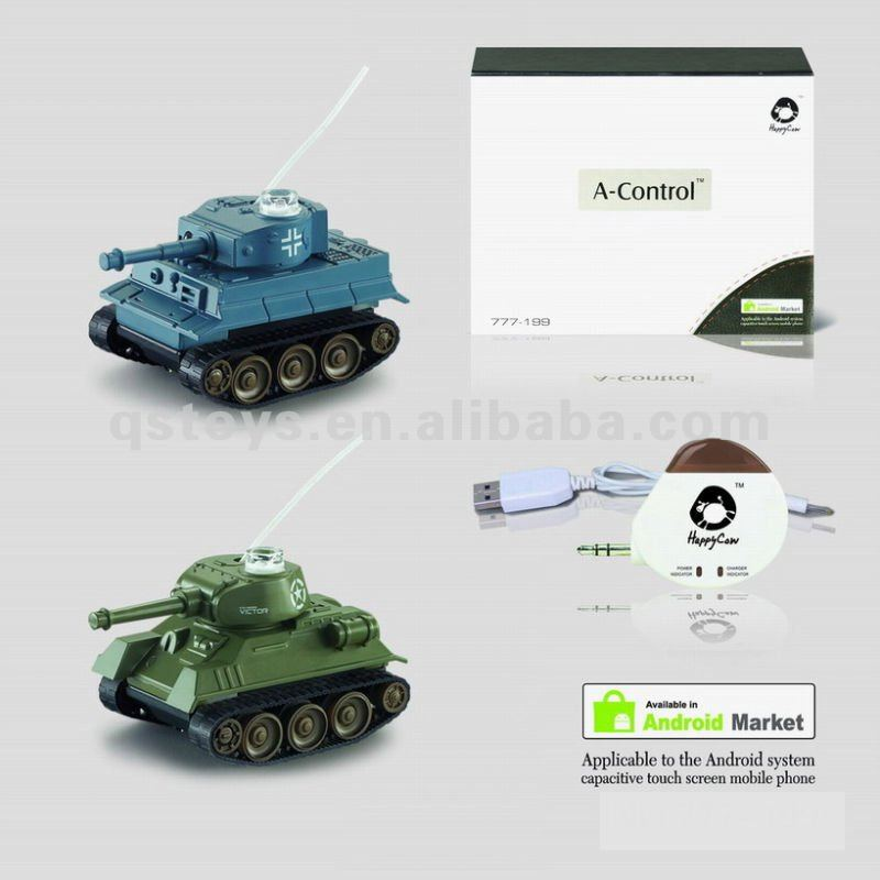 Android Remote Control 4CH Infrared Tank (with transmitter)