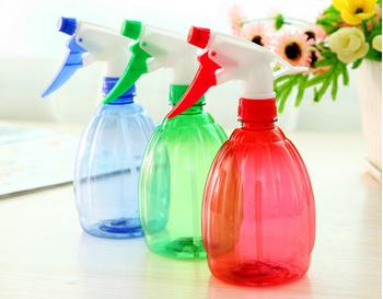 Colorido 250 Ml Pet Frasco De Spray De Gatilho De Plástico Regador