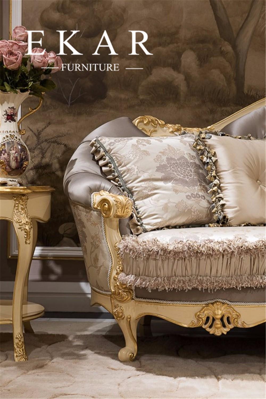 Ekar Furniture Design 7 Seater Heated Sofa Wood Living