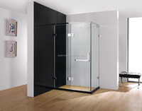 Frameless Sliding Big Roller Glass Shower Door