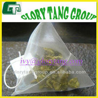 biodegradable tea bag material,100% biodegradable tea bag material, pyramid pla teabag