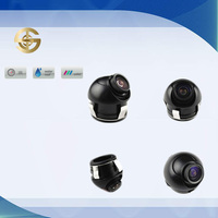 Mini Fish Eye 360 Degree Rotation Car Backup Camera For Parking Sensor System SJ-915A