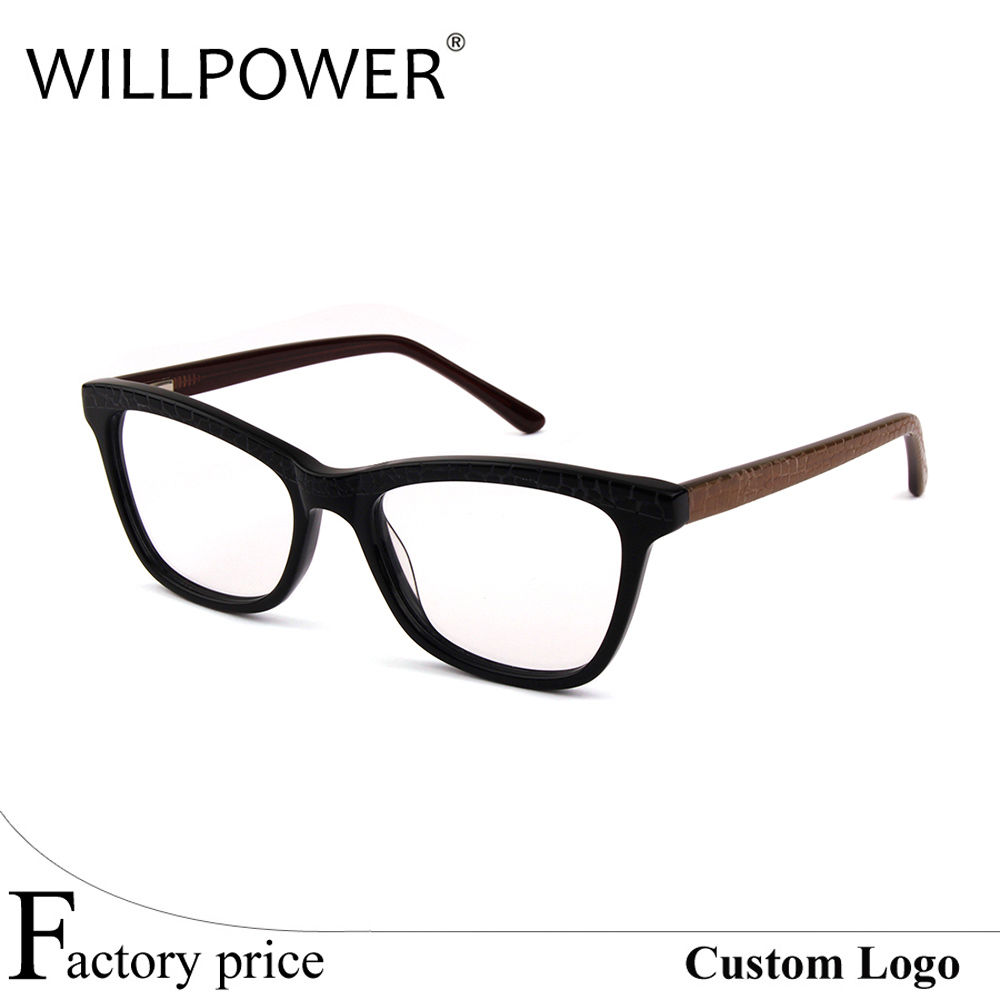 Willpower New Model Eyeglasses coffee Acetate eyewear ready stock Optical Frames