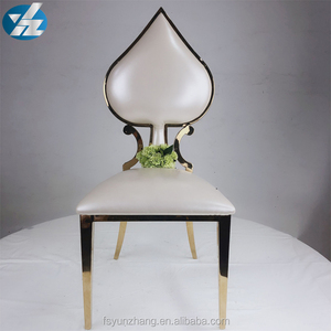 Royal style gold used hotel banquet wedding events chairs