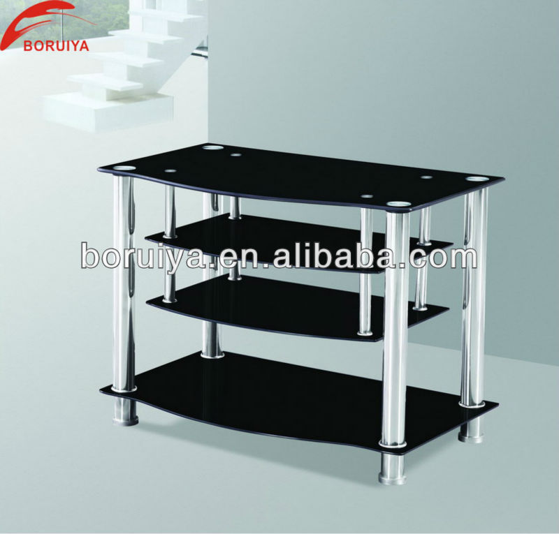 Glass Table Tv Stand - Table Designs