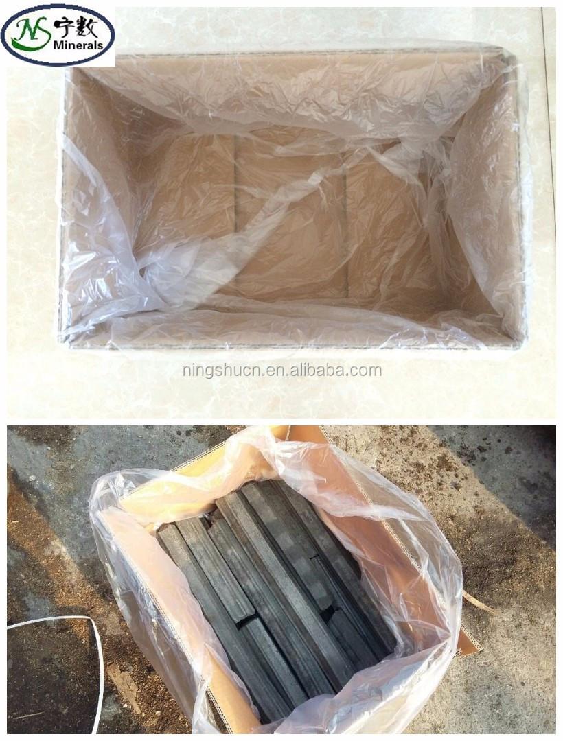 Price per ton of bulk wood charcoal sawdust briquette