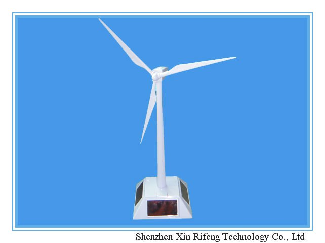 XRF solar powered windmill, solar gifts and toys for 2012