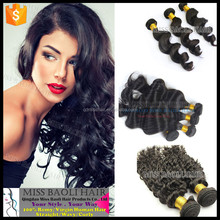 Wholesale Factory Price Double Weft Hair 100% Remy Hair Tangle Free No Shedding Futura Hair Weaving