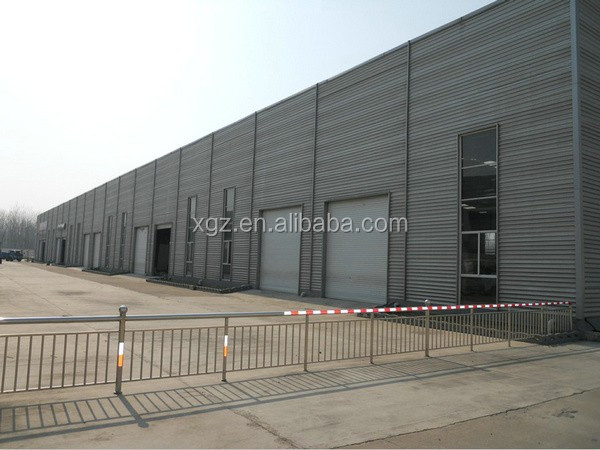 fast erection qualified designed steel structure