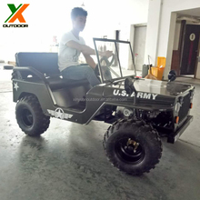 110cc 125cc 150cc gas mini jeep willys for kids