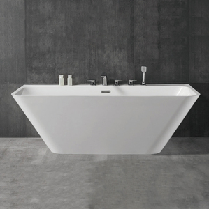 High quality Hot sale solid surface bathroom round shape freestanding soaking bathtub