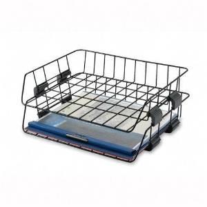 Sparco Products Wire Desk Tray, Letter, 2 per Box, Black PROD-ID : 938376