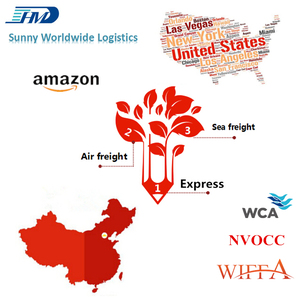 DDP Shipping Company Amazon FBA Freight Forwarder China to USA