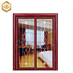 Wood Grain Slide House Measure Bali Interior Door Manufacture