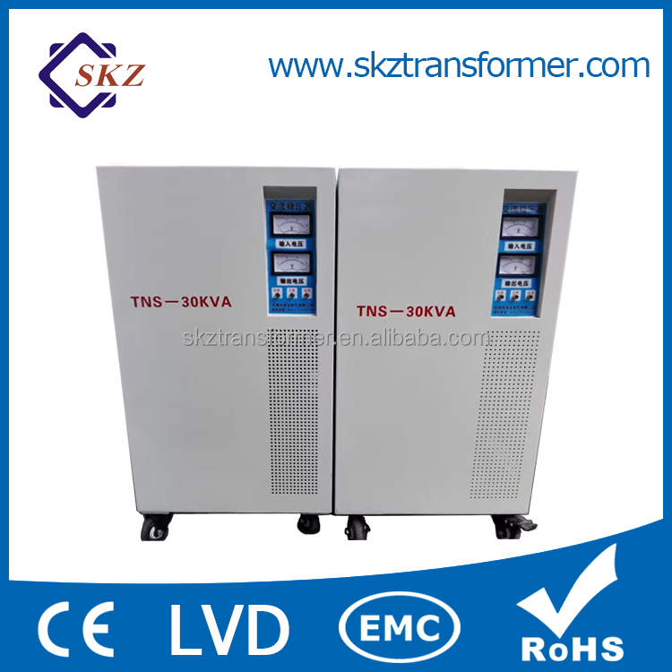 Custom Made AC Three Phase Voltage Stabilizer 50KVA
