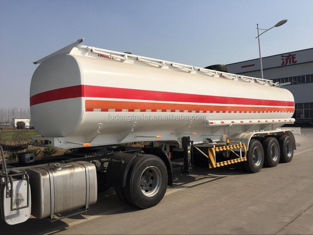 3 Axles 45000 Litres Diesel Fuel Tanker Trailer,50000 Liters Fuel ...