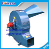 agricultural chaff cutter making green animal fodder