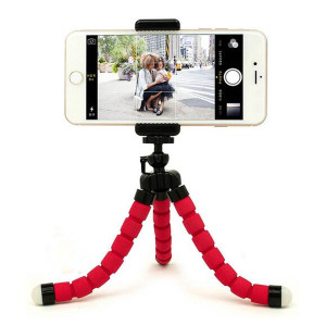 2018 phone accessories flexible small tripod for camera and smartphone