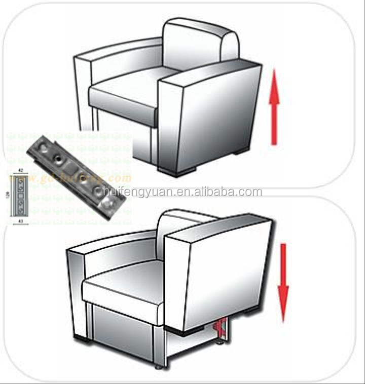 Furniture Accessories Modular Sectional Sofa Connectors Hf