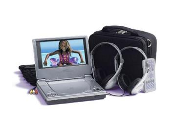 Audiovox D1708pk Portable DVD Player With 7quot 16 9 LCD