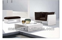 Simple Design White Furniture Sofa 3 pc Leisure Single Sofa Set