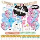 Nicro 2019 New Product Boy Or Girl Gender Reveal Baby Shower Birthday Party Decoration Supplies Set