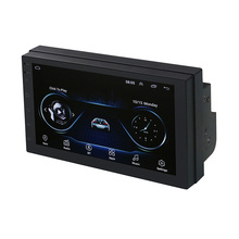 Touch Screen 두 번 딘 7 Inch 차 video 와 Mirror Link 및 GPS Navigation autoradio MP5 안드로이드 차 player