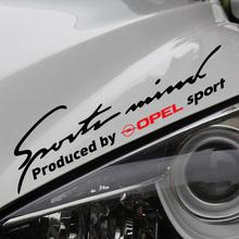 Customizable Sports Car Covers sticker decal Car-Styling For opel astra h corsa zafira insignia vectra b antara car accessories