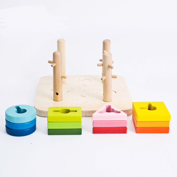 Chinese New Year Promotion Gift Creatology Wooden Puzzle Instructions  Wooden Shanghai Educational Wooden Toys - Buy Shanghai Educational Wooden