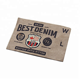 Colorful Washable Hard-wearing Kraft Paper Label Tag for Jeans