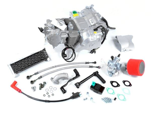 YX 150cc Engines with spare parts completeengine