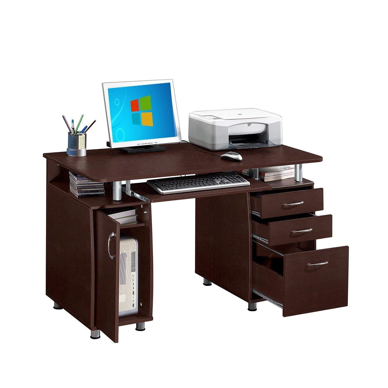 Svitlife Modern Designs Multifunctional Office Desk with File Cabinet Multifunctional Office Desk with File Cabinet