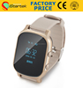 Factory price watch GPS tracker for kids and elders,programmable personal GPS tracker from China