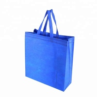 Non Toxic Custom Size Recycle Polyester Non Woven Fold Tote Bags For promotion