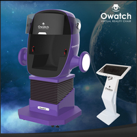 China guangzhou owatch new product robot purple color 1 seat 5d 7d 9d cinema for sale