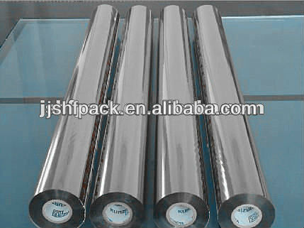 metallic double sided hot stamping foil for paper plastic and wood