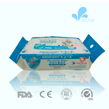 Non Alcohol Wet Baby Wipes For Cleaning