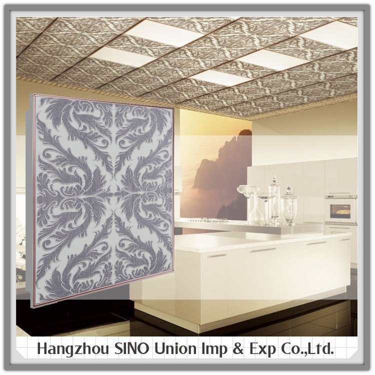 High-grade interior building aluminum false ceiling finish modern ceiling material