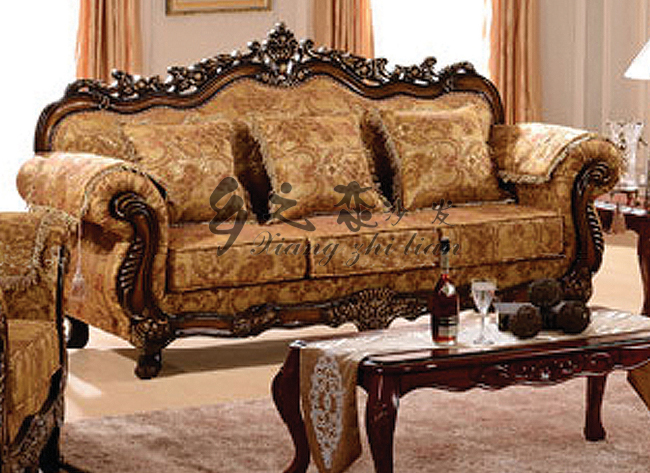 Cheap Antique Traditional Sofa Set 3 2 1 Vintage Furniture