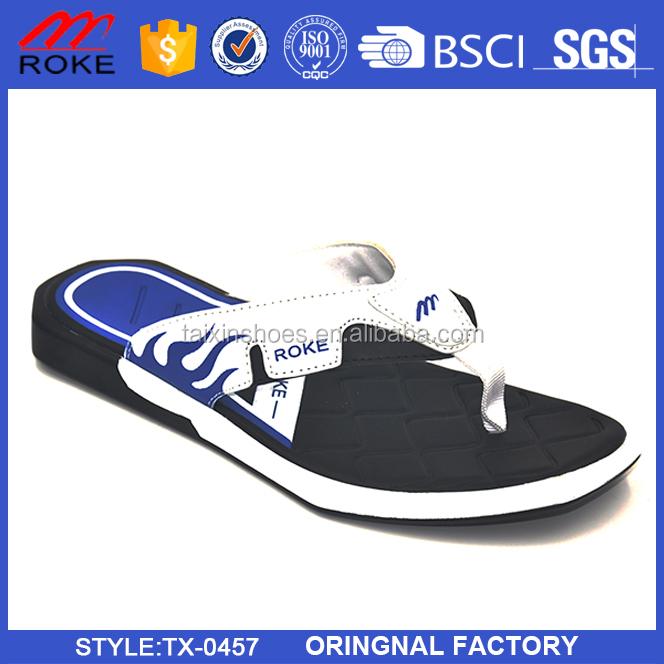 2017 New Style Summer Flip Flop Slippers beach slipper for Men