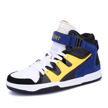Brand Running Adult Basketball Shoes High Cut Shoes For Men The
