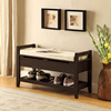 Custom made storage bench indoor manufacturer