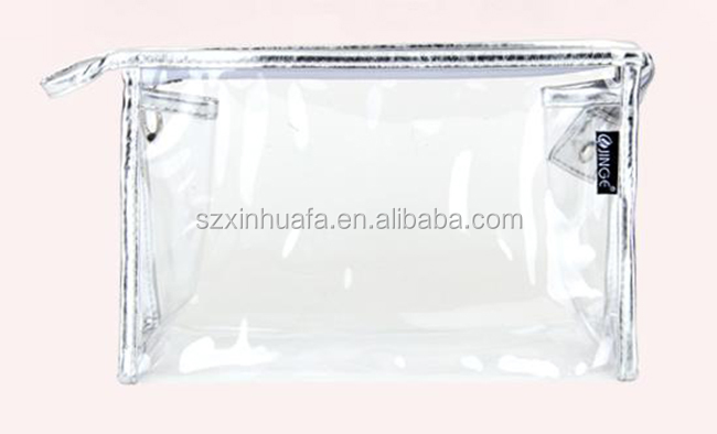 China Supplier High Quality Transparent Cosmetic Bag