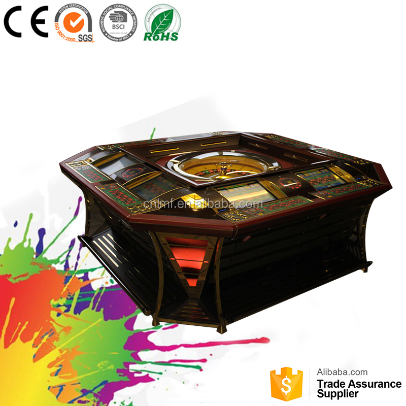Table a roulette Gambling game machine Roulette table factory price for sale