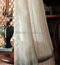 Strip sheer curtain stage decoration ready made drapes and curtains