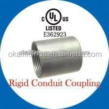 "1/2""-6"" UL list EMT tubing coupling"
