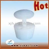 High quality white silicone stopper