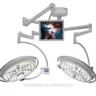 Double Dome with Camera Led shadowless operation theatre light surgery lamp