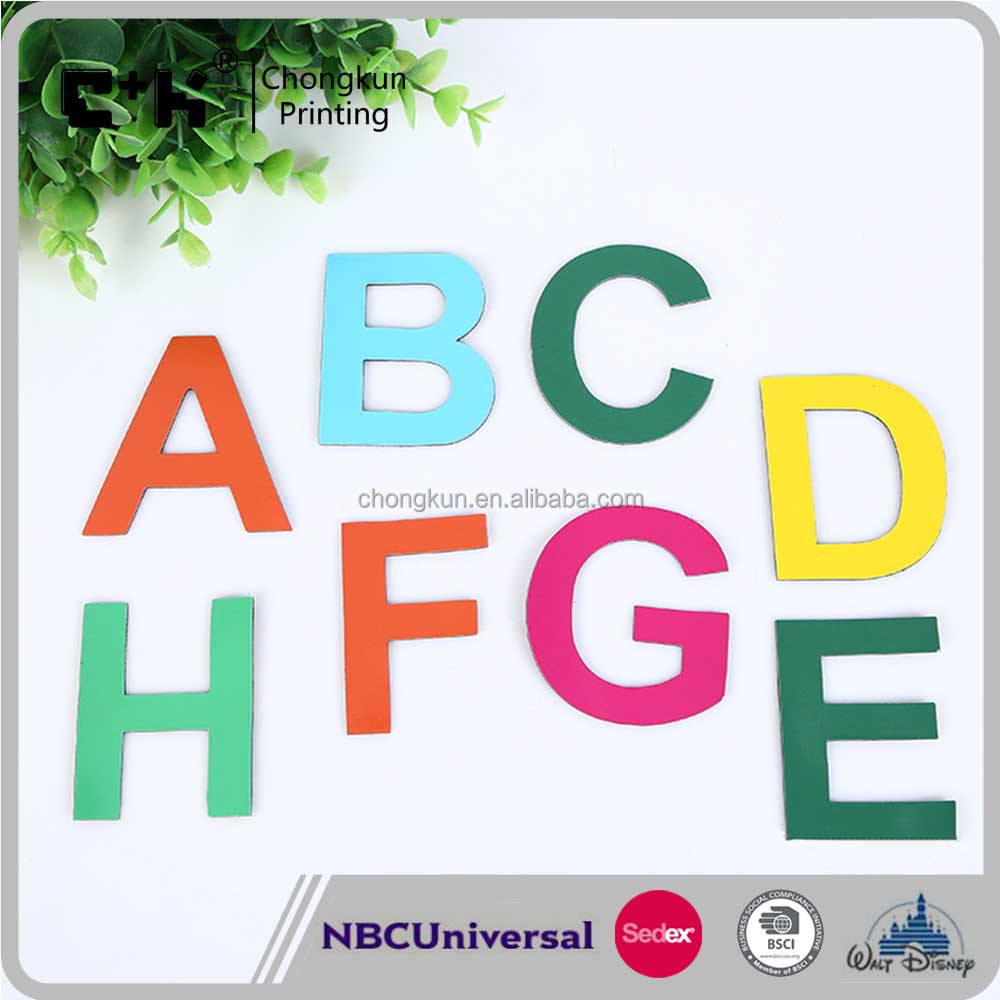 Educational Toys Magnetic Alphabet Letters fridge magnet