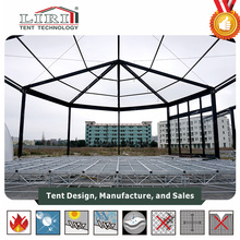 300 sqm Magical Tent Multi-sides Tent With Colorful PVC